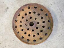 Vintage John Deere Drill Press Wheel 12 12 Rustic Decor