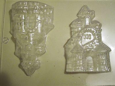 PRINCESS CASTLE PALACE SOLID 3D CHOCOLATE SUGARCRAFT MOULDS (G5 )