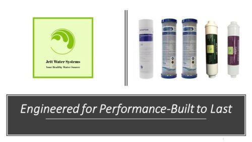 6 Stage Reverse Osmosis Replacement Filter Set