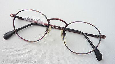 Attento Enrica Coveri Multicolor Antico Look Marchi Telaio Pantobrille Metallo Frame Size S-mostra Il Titolo Originale Modelli Alla Moda