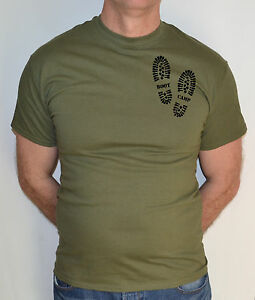 Details about BOOT CAMP,FITNESS, ARMY, MILITARY COMBAT ,T-SHIRT