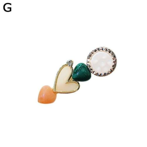 Women Hairpin Fashion Wild Macaron Pearl Plum Blossom Hairpin Bobb C8S5