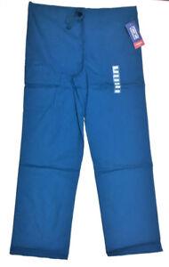 Cherokee-Workwear-Unisex-Drawstring-Scrub-Pant-Caribbean-Blue-Unisex-Small