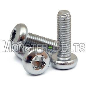 M3-M10 Security Torx Screws Pan Head Hexalobular Socket Machine Screws Stainless