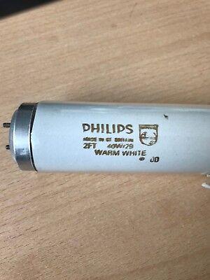 philips 40w T12  White 600mm Fluorescent Tube 3500 Kelvin