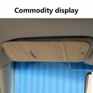 12-Disc-Auto-Universal-Car-CD-DVD-Sun-Visor-Card-Case-Storage-Holder-Clipper-Bag