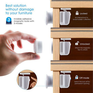 Magnetic-Cabinet-Drawer-Cupboard-Locks-for-Baby-Kids-Safety-Child-Proofing-Z