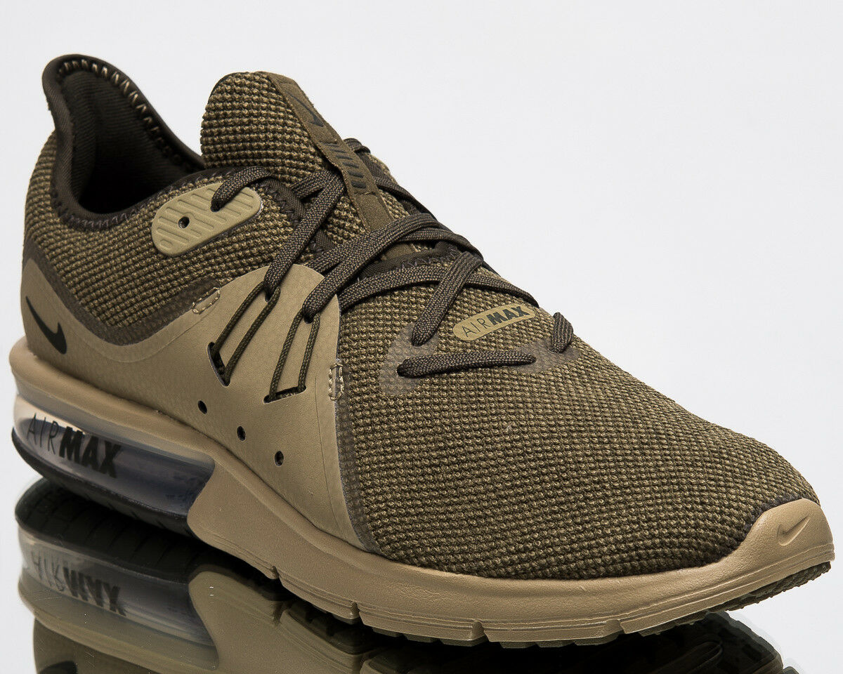 Nike Air Max Sequent 3 Mens Running Shoes Men New Olive Sneakers 921694-200