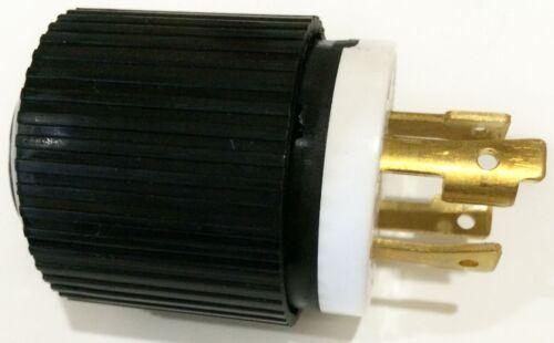 Heavy Duty L14-30P 4-Prong Generator Twist Lock Locking Plug Device 30A 125//250V