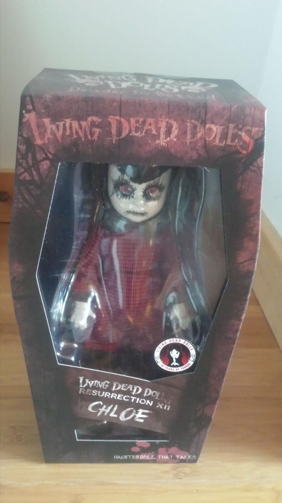 Living Dead Dolls exclusiva Muñeca que habla Chloe resurrección