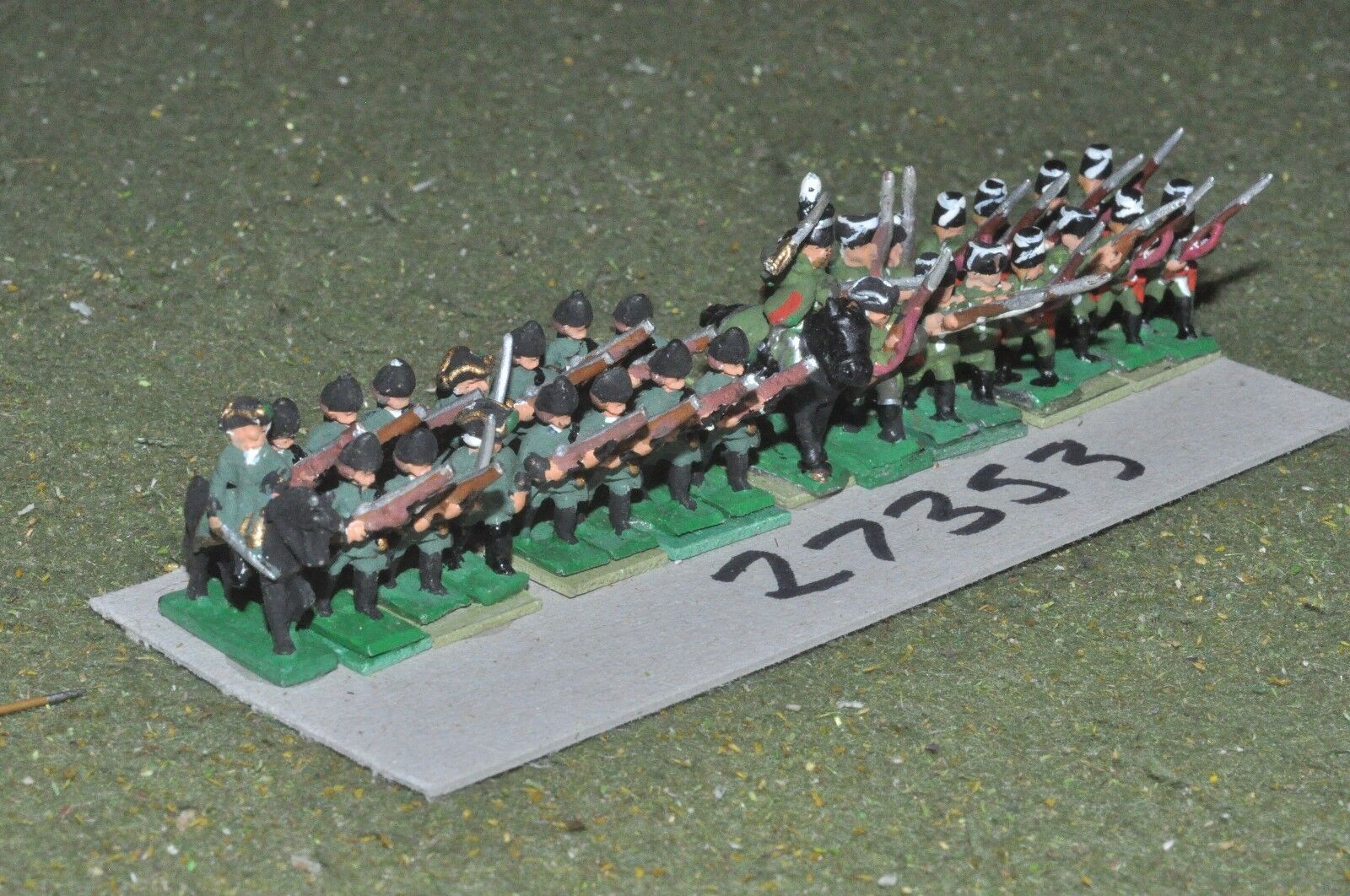 15mm 7YW   prussian - frei korps 30 figures - inf (27353)