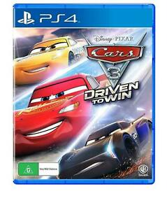 Cars 3 Driven to Win PS4 Playstation 4 Brand New Sealed