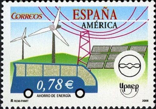 España 2006, Serie América: Ahorro de Energía (**) UNC