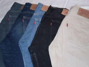LOTTO-STOCK-30-LEVI-039-S-501-JEANS-LEVIS-USATI-Levi-039-s-Vintage-30-pz