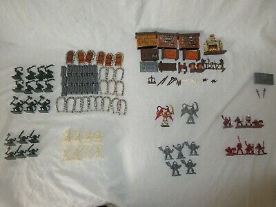 Miniature Figure Orc MB HEROQUEST Boardgames Spare Parts Ricambi