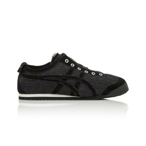 Shoe_gender}'s Black/black Temperate Onitsuka Tiger Mexico 66 Slip On Casual Shoes