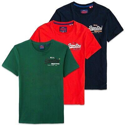 Superdry Vintage Logo Racer T-Shirt Eclipse Navy