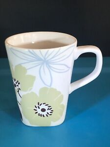 222-fifth-vida-taupe-mug-cup-fine-china-Brown-amp-Blue-flowers-Square-base-4-5-034