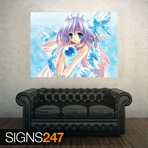 CUTE ANIME GIRL Anime Poster 3225 Picture Poster Print Art A0 A1 A2 A3 A4