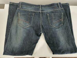 TOMMY-HILFIGER-Jeans-Denim-Cotton-Blue-Mens-Size-38