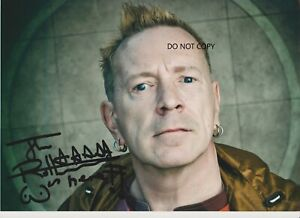 JOHNNY-ROTTEN-Sex-pistols-A4-hand-signed-photo