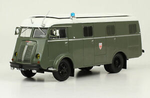 Truck-Berliet-GLB-19-R-Car-de-commandement-C-R-S-1-43-New-amp-Box-diecast-model