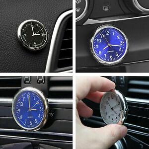 Poche-Mini-horloge-a-quartz-analogique-lumineuse-pour-montre-de-voiture