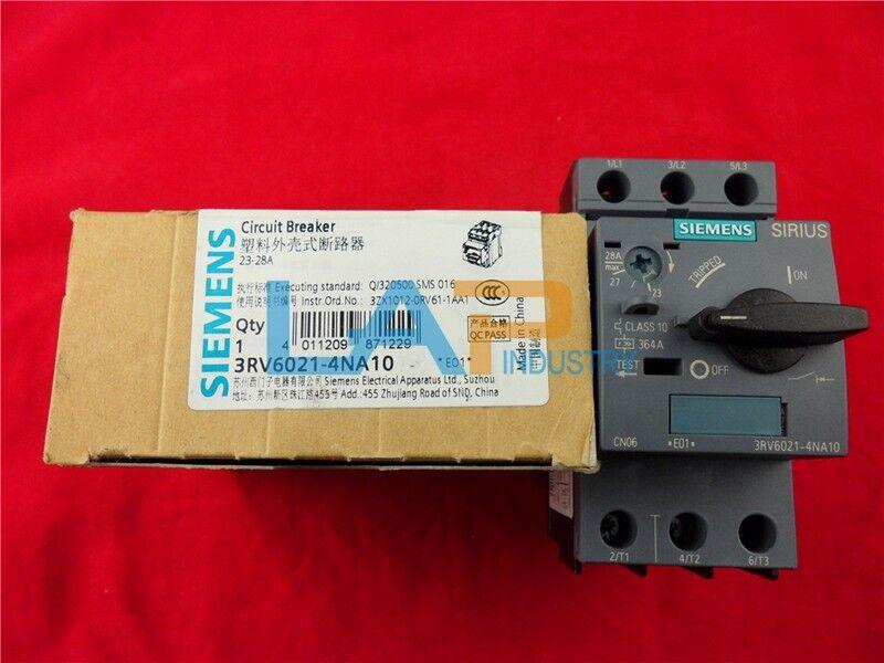 1PC 3RV6021-4NA10 NUEVO Para Siemens DISYUNTOR 3RV6021-4NA10 1PC 23-28A ZY b217df