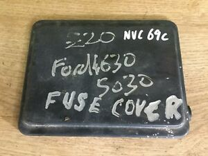 image is loading ford-4630-5030-fuse-box-cover-nvc69c