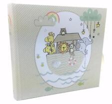 """BABY ALBUM FOTO REGALO Noah's Ark tema contiene 80 6 """"x 4"""" foto cg697"""