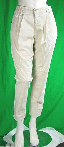 Pantaloni Donna MET C572 Affusolato Beige Chiaro Tg 24 conformata veste grande