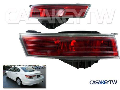2008 09 2010 Rear Trunk Fog Lights Set For Jdm Accord Inspire Cp3 Fcpu
