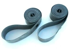 2 NEW 24x1.75//1.90//24x2.00//2.125 RUBBER RIM STRIP LINERS SPOKE PROTECTERS