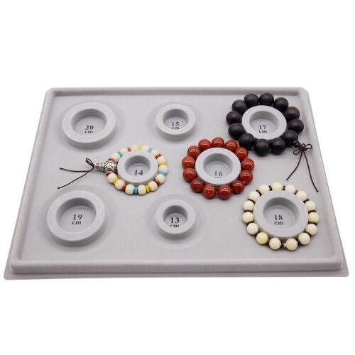 2Pcs Bead Design Board Bracelet Design Board Flocked Bead Board Necklace V7N6