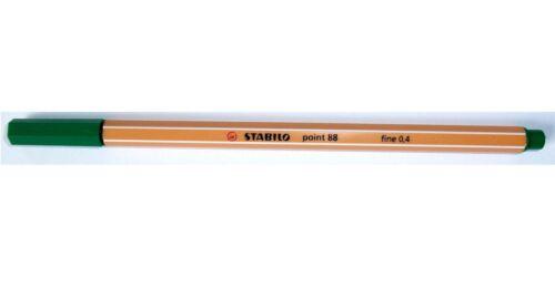 STABILO point Fineliner POINT88 10 Stück einer Farbe; 6er oder 10er Etui