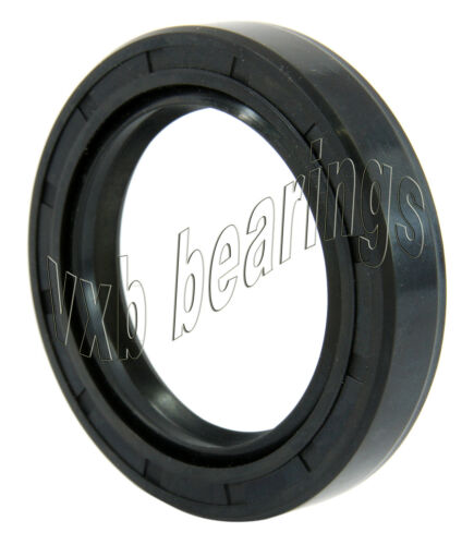 "Oil and Grease Seal 3.346""x 4.921""x 0.551"" Inch Rubber Covered Double Lip wGart"