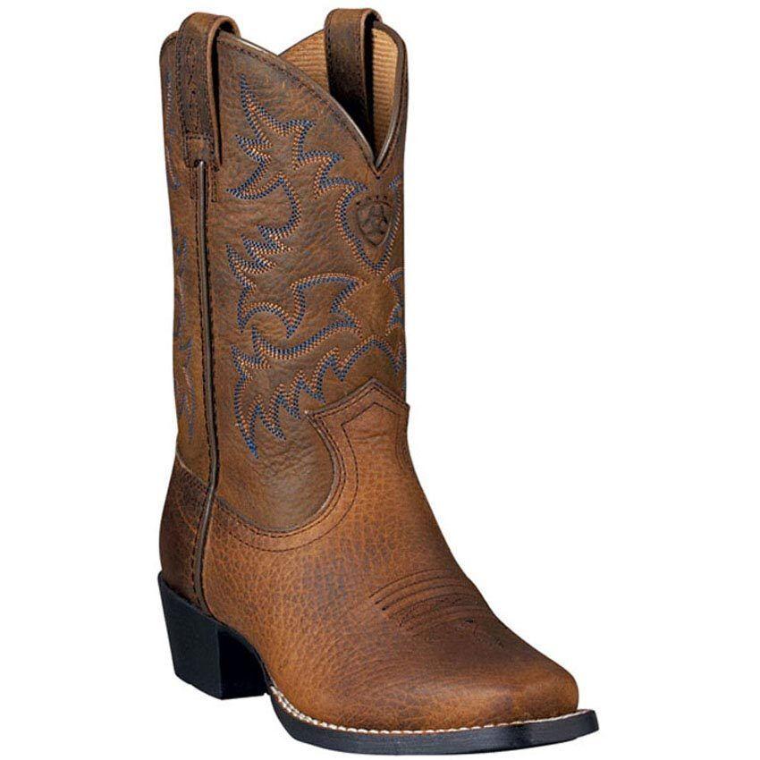 PRICE DROP  Ariat Kid's Legend  Brown Oiled Cowboy Boot 10002020 (32710C Y)  simple and generous design