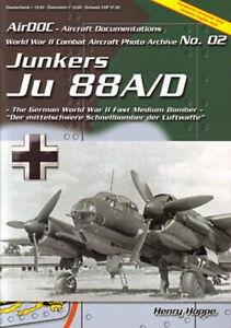 AirDOC ADC 2: Junkers Ju 88 A/D Bomber der Luftwaffe NEU Flugzeug-Modellbau