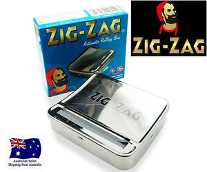 BEST ZAG AUTOMATIC CIGARETTE ROLLING MACHINE BOX TOBACCO TIN smoke REGULAR 70mm