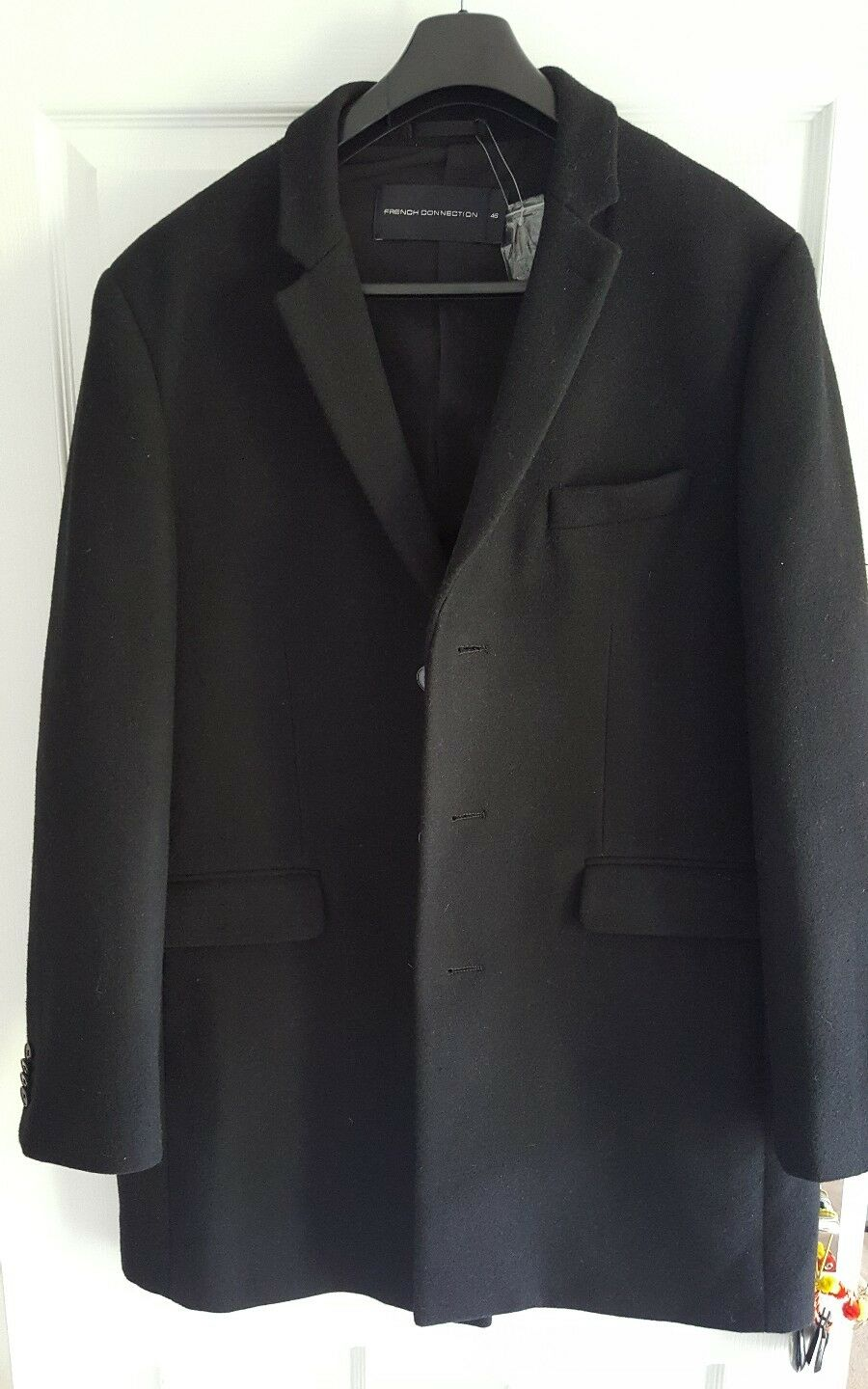 996e8ae000db French Connection mens coat size 46 new FCUK odkphk16696-Coats ...