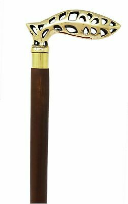 Antique stick Joker head handle vintage walking cane Style New Halloween gift