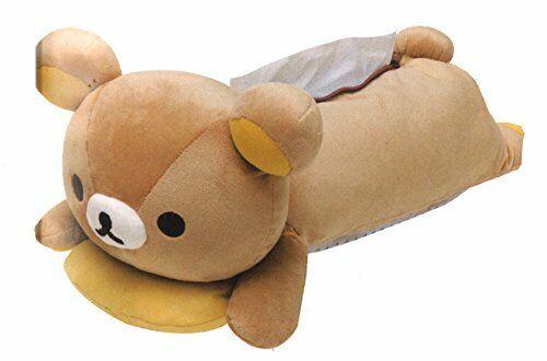 *Rilakkuma stuffed animal tissue cover Rilakkuma KF10101