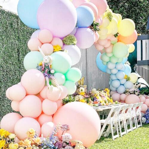 100pcs 12 inch Latex Candy Macaron Pastel Balloons Wedding Party Birthday Decor