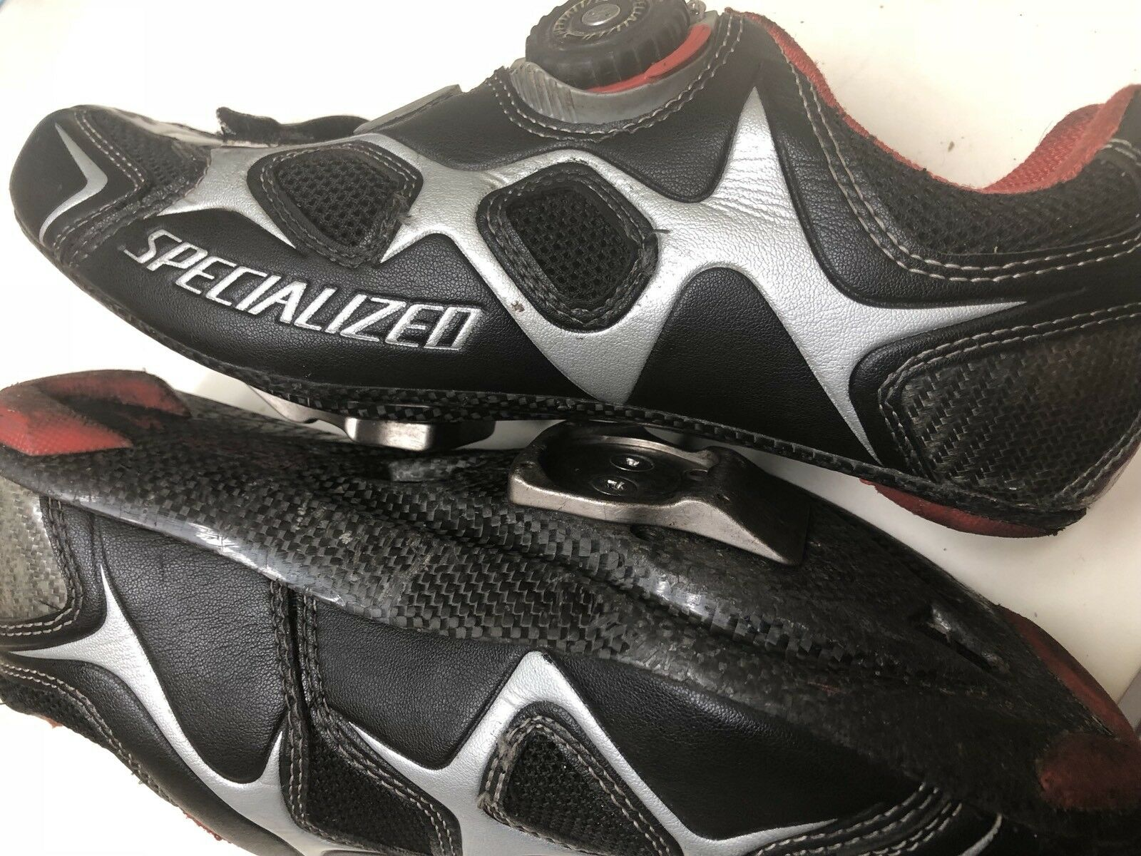 Specialized S Works shoes Body geometry Carbon 8.5 41.5 2 or 3 Bolt Very Light