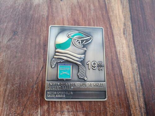 Rally badge universal badge Saudi Arabia car badge Islamic car grill badge