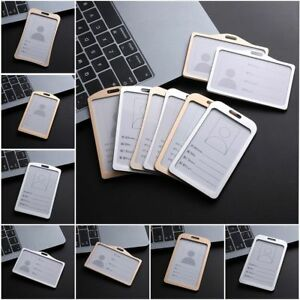 School-Tag-Metal-Aluminum-Alloy-Work-Card-Holders-Name-Card-ID-Business-Case