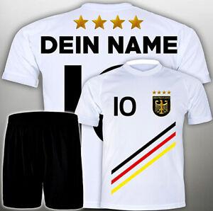 Details Zu Fussball Geschenke Kinder Set Wm Deutschland Trikot Wunsch Name Freifeld1