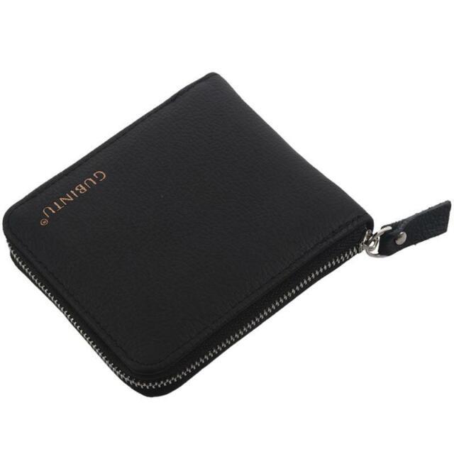 GUBINTU Euro Stylish Zipper Purse Cortex Wallet Men, Mens Wallets Famous Br G8R1