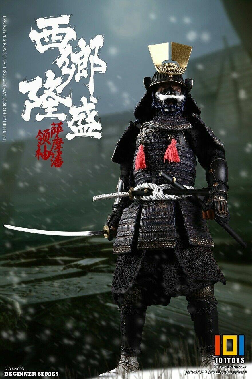 1 6 101 Juguetes KN003 Saigo Takamori líder de dominio de Satsuma estándar Ver. figura