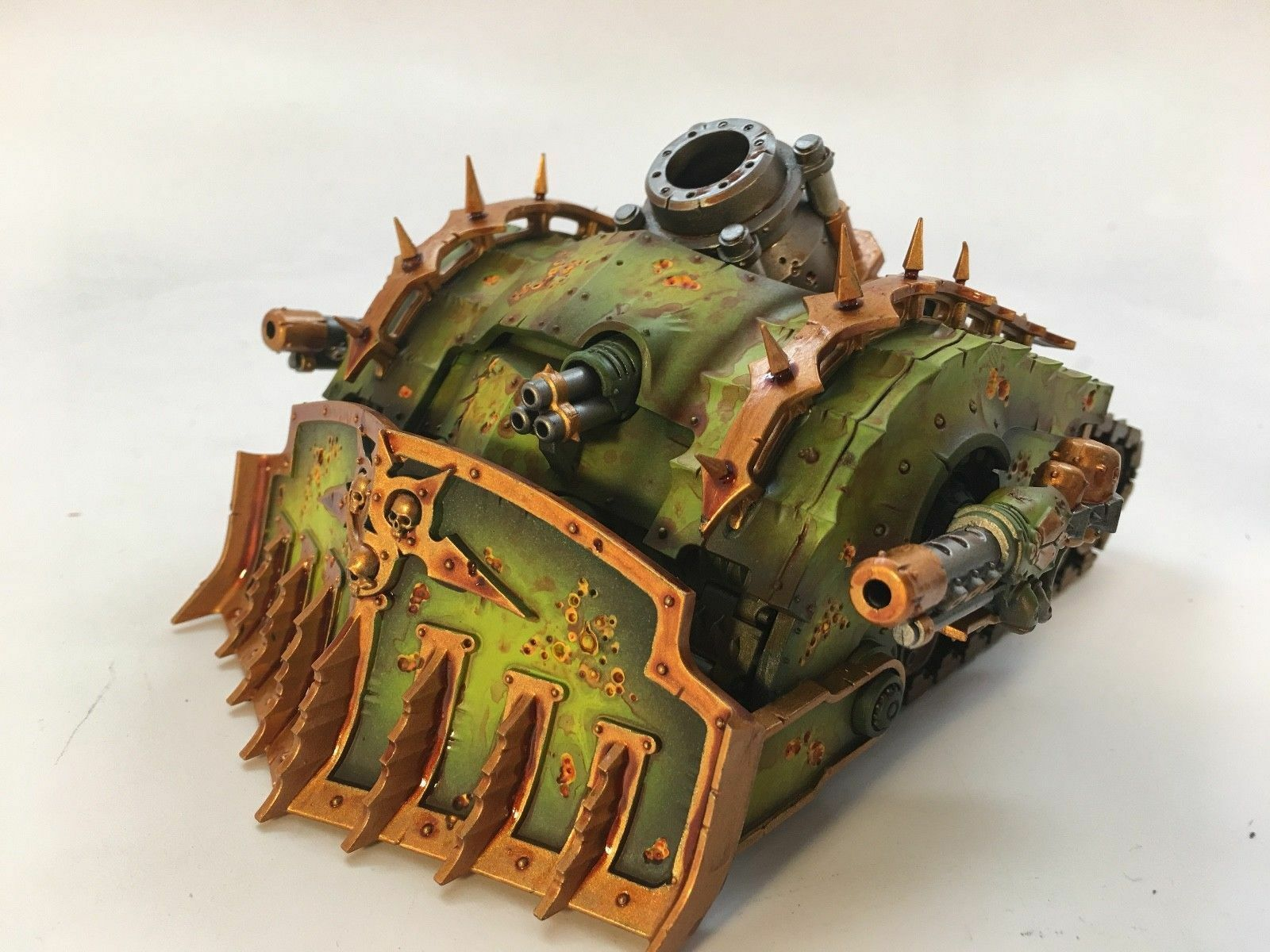 Plagueburst Crawler Death Guard Painted and Magnetized Magnetized Magnetized Warhammer 40k 5cf3e9